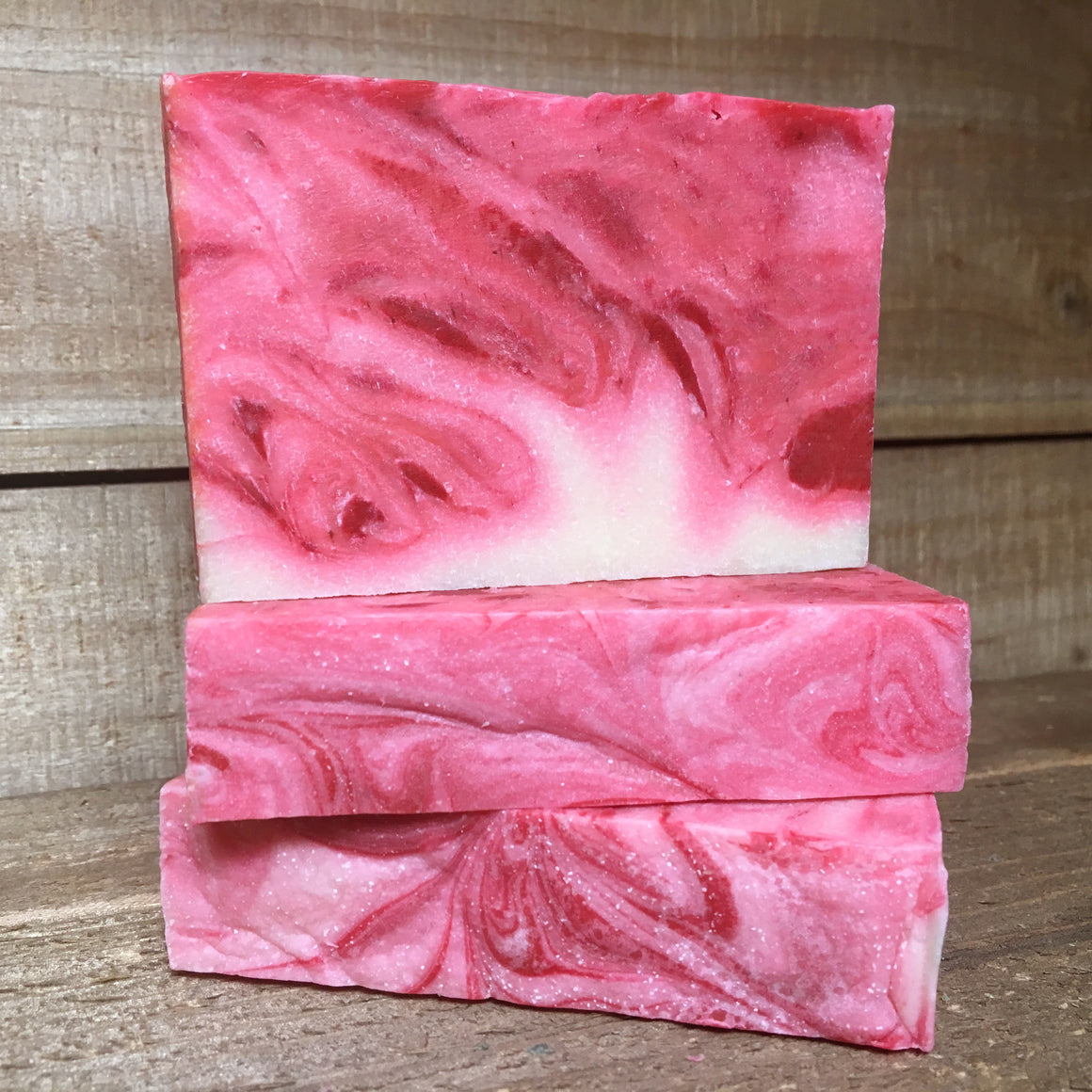 Peppermint Snow Bacon Soap, Christmas Handmade Soap, Vermont