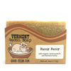 Hunny Bunny Bacon Soap, with Lemongrass Essential Oil, Organic Carrot Puree, and Vermont Raw Honey