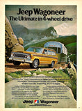 1974 JEEP WAGONEER & Airstream Ad-Original-Stills Of Time