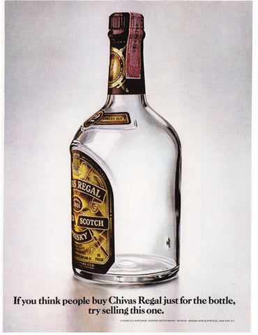 "1977 Chivas Regal Scotch Whisky Ad ""Selling""-Original-Stills Of Time"