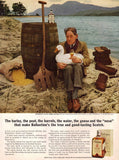 "1963 Ballantine Scotch Ad ""Man & Goose""-Original-Stills Of Time"