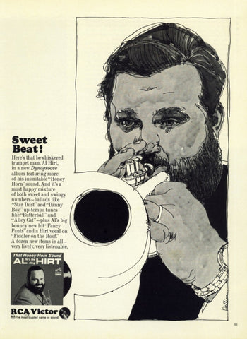 "1965 Al Hirt Music Ad ""Honey Horn""-Original-Stills Of Time"