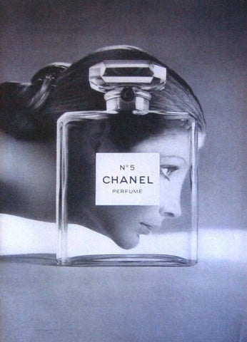 "1971 Chanel No. 5 Perfume Ad ""Woman & Bottle""-Original-Stills Of Time"
