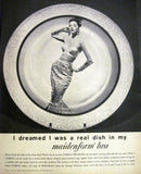 "1960 Maidenform Bra Ad ""Real Dish""-Original-Stills Of Time"