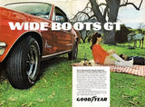 "1968 Goodyear Tires Ad ""Ford Mustang""-Original-Stills Of Time"