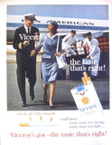 "1963 Viceroy Cigarette Ad ""Pan American""-Original-Stills Of Time"