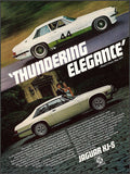 "1978 Jaguar XJ-S Car Ad ""Thundering""-Original-Stills Of Time"