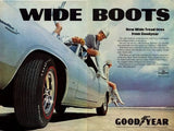 "1968 Goodyear Tires Ad ""Plymouth Barracuda""-Original-Stills Of Time"