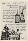 "1965 George Dickel Tennessee Whiskey Ad ""Toast""-Original-Stills Of Time"