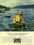 "1962 Ballantine Scotch Ad ""Loch Lomond""-Original-Stills Of Time"