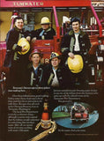 "1973 Olympia Beer Ad ""Washington State Firemen""-Original-Stills Of Time"