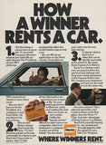 "1979 Hertz Cars Ad ""OJ Simpson: Winner""-Original-Stills Of Time"