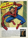 "1977 Oui Magazine Ad ""Stan Lee: Spiderman Comics""-Original-Stills Of Time"
