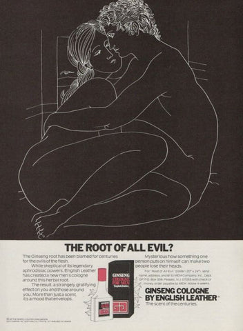 "1977 English Leather Ginseng Cologne Ad ""Evil""-Original-Stills Of Time"