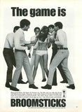 "1967 Broomsticks Men Slacks Ad ""Ring Around Rosie""-Original-Stills Of Time"