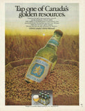 "1978 Molson Canadian Beer Ad ""Tap One""-Original-Stills Of Time"