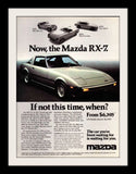 "1978 Mazda RX-7 Car Ad ""Time""-Original-Stills Of Time"