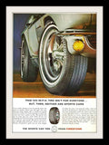 "1965 Firestone Tires Ad ""Mustang Fastback""-Original-Stills Of Time"
