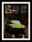 "1973 Porsche 914 Yellow Car Ad ""Weather""-Original-Stills Of Time"