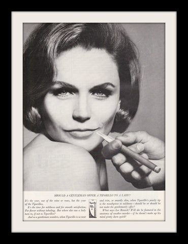 "1964 Tiparillo Cigar Ad ""Lee Remick""-Original-Stills Of Time"
