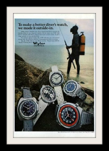 1970 Wyler Incaflex ITB 660 Watch Ad-Original-Stills Of Time