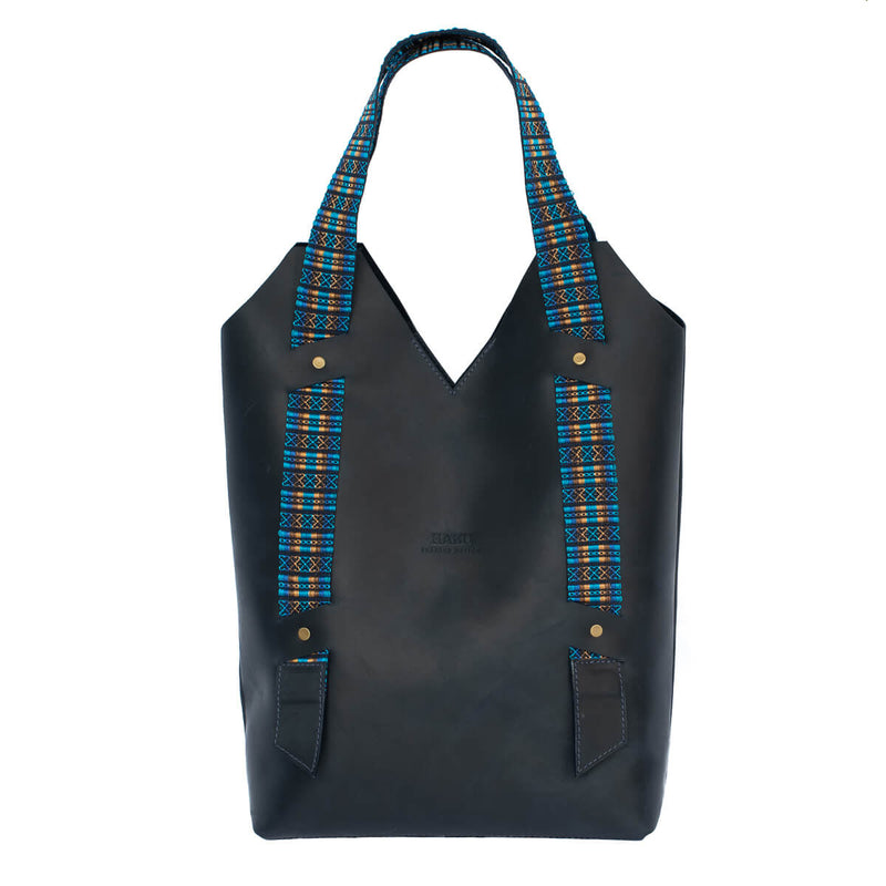 Follis Tote with Andean Strap