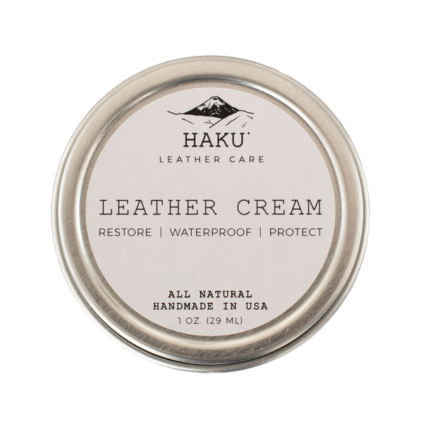 Haku Leather Conditioning Cream