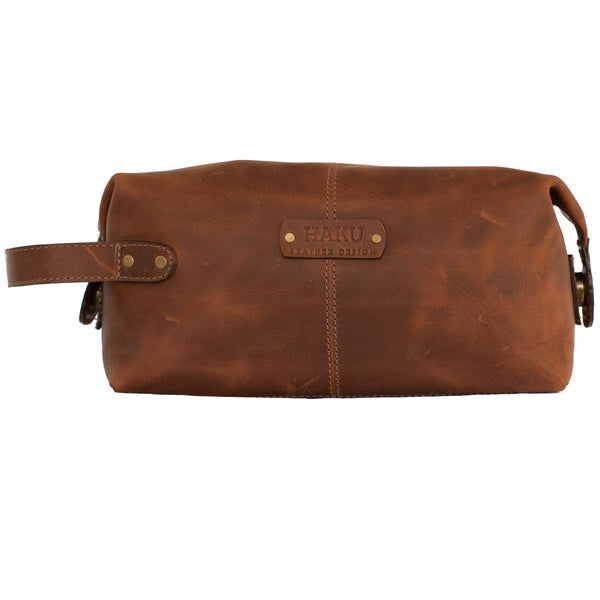 Toiletry Bag Leather