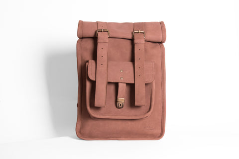 Remotus Rolltop Rucksack Haku Leather