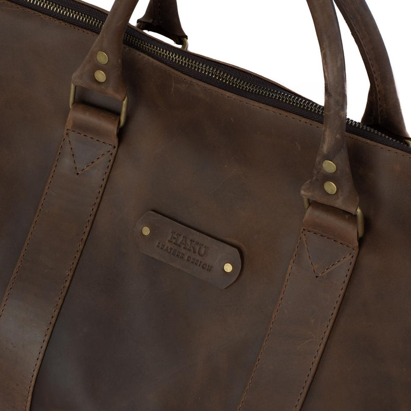 Via Weekender Bag Leather