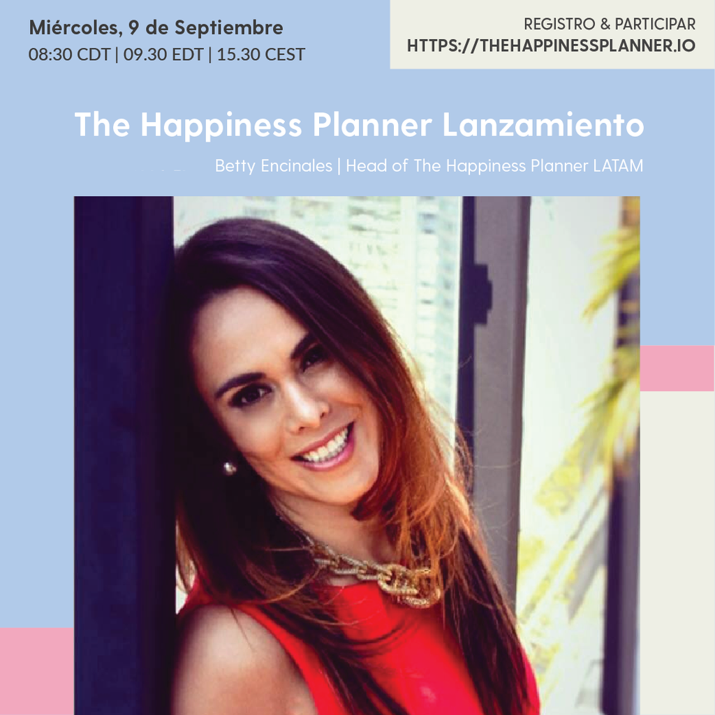 The Happiness Planner Lanzamiento