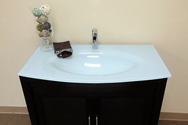 Bellaterra Home Dark Espresso Single Sink Vanity