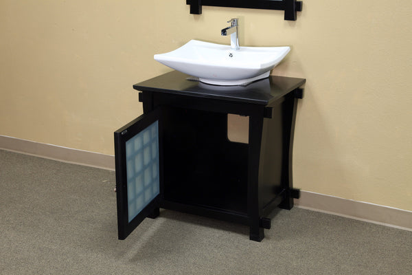 "Bellaterra Home 30"" Single Sink Bathroom Vanity"