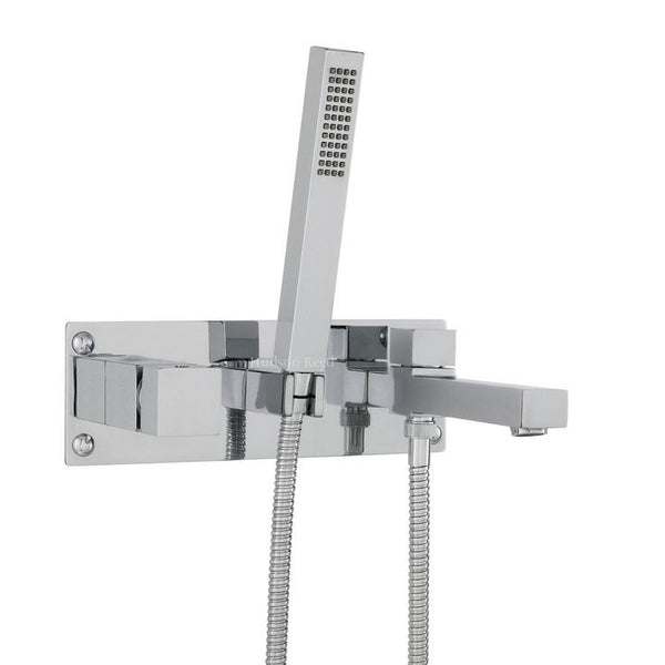 Hudson Reed Kubix Wall Mounted Tub Shower Mixer