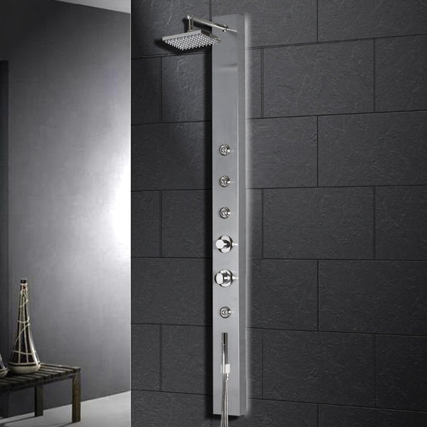 Ariel A302 Stainless Steel Shower Panel