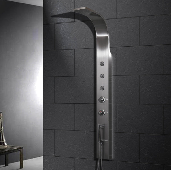Ariel A303 Stainless Steel Shower Panel