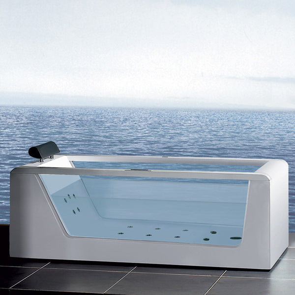 Ariel Platinum AM152 Whirlpool Bathtub