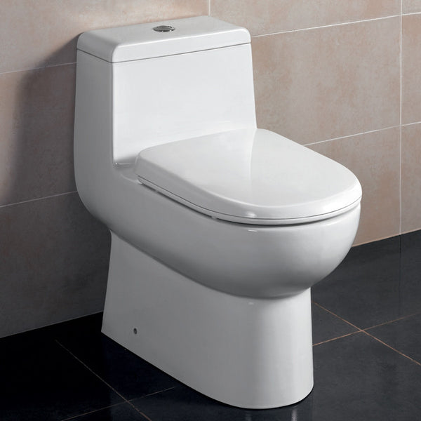 Ariel Platinum Camilla Contemporary European Toilet with Dual Flush