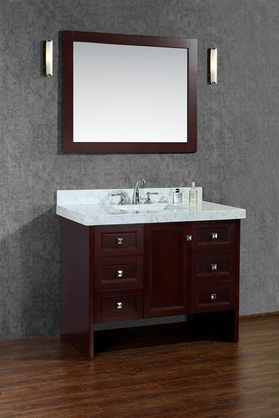 "Seacliff by Ariel Beckonridge 42"" Single Sink Bathroom Vanity Set"