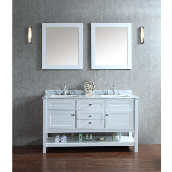 60 double sink bathroom vanity. Seacliff By Ariel Mayfield 60  Double Sink Bathroom Vanity Set