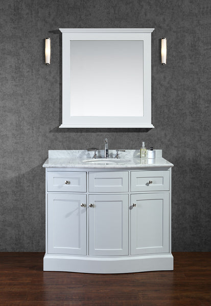 "Seacliff by Ariel Montauk 42"" Single Sink Bathroom Vanity Set"