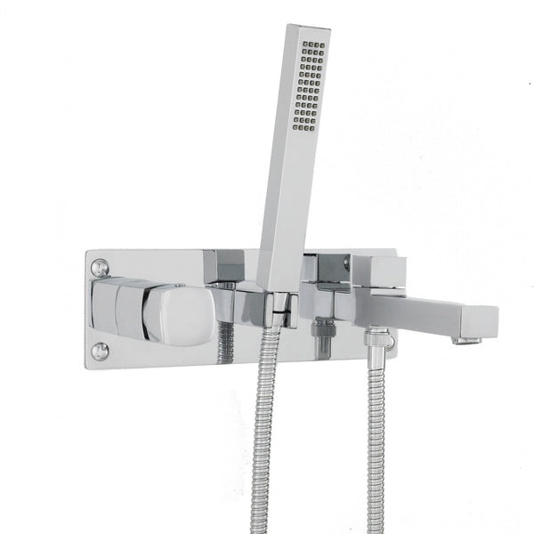 Hudson Reed Muse Wall Mounted Tub Shower Mixer