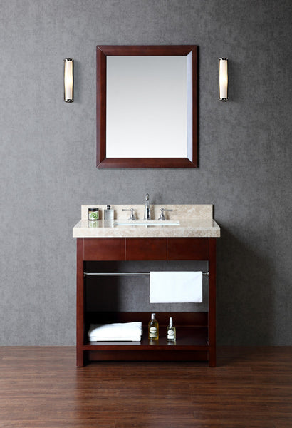"Seacliff by Ariel Seabrook 36"" Single Sink Bathroom Vanity Set"