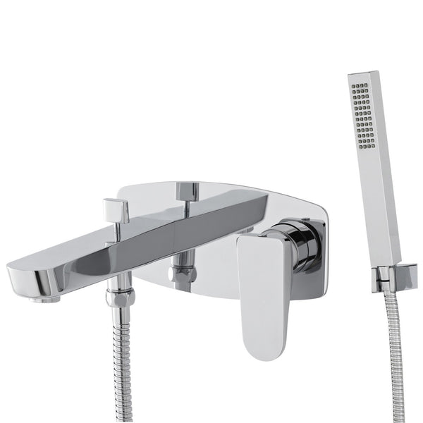 Hudson Reed Aspire Wall Mounted Bath Shower Mixer