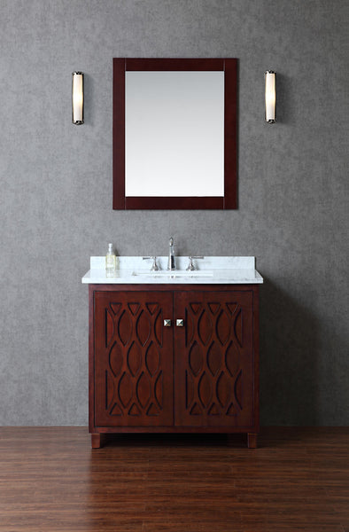 "Seacliff by Ariel Turnberry 36"" Single Sink Bathroom Vanity Set"