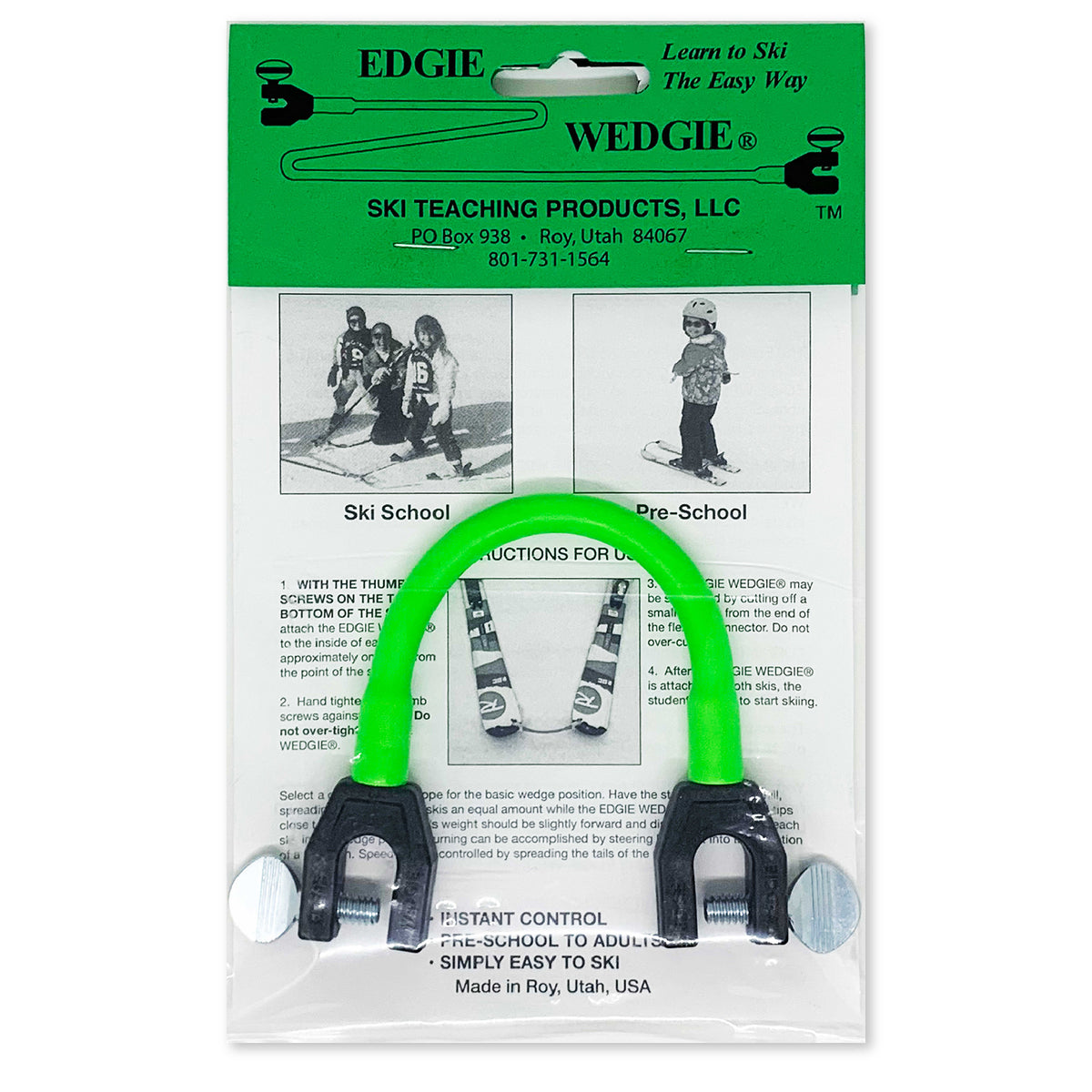 Edgie Wedgie® Ski Tip Connector