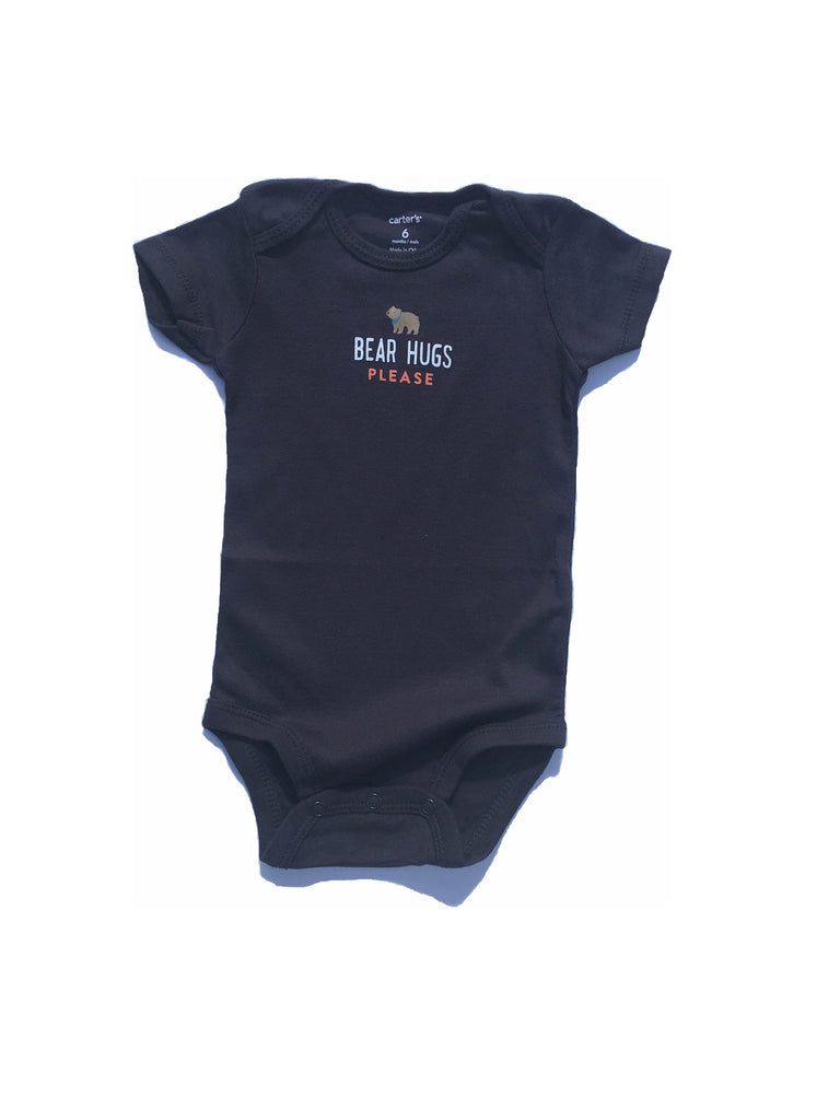 Black Bear Hugs Bodysuit