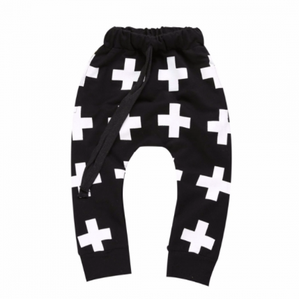 Cross Cotton Pants