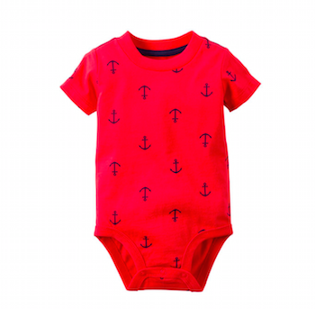 Anchor Print Bodysuit