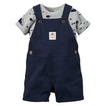 Printed Shortall Set